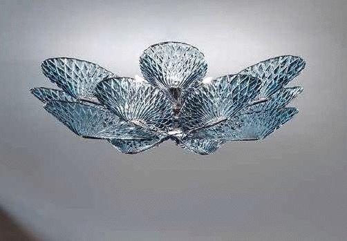 Plafoniere Moderne In Vetro Di Murano : Plafoniere moderne in vetro di murano: plafoniera 3 luci